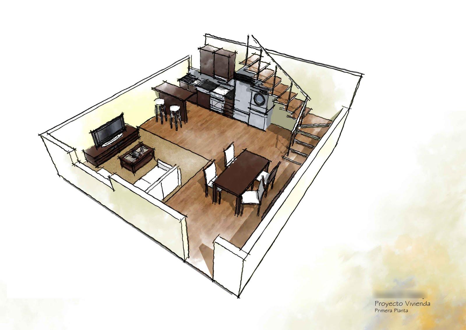 Jaime juan soteras dise o 3d de interiores for Carrera diseno de interiores online