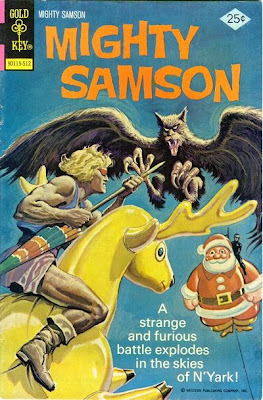 might samson 30 1975 santa claus cover comic book