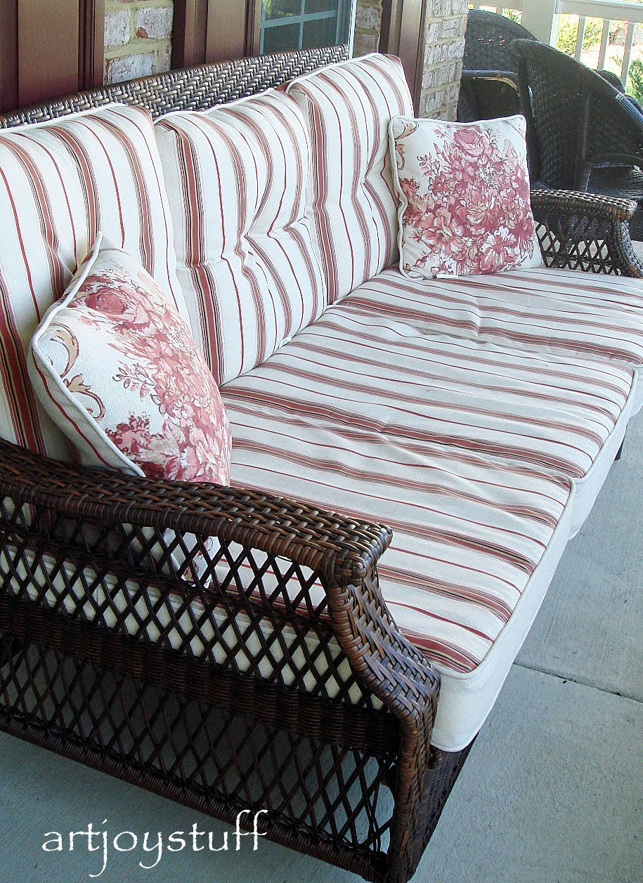 ArtJoyStuff: New Porch, New Furniture