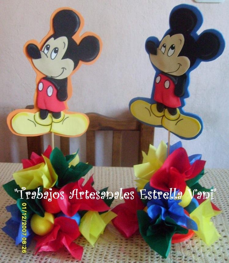 Para decorar un cumple con Mickey y sus amigos