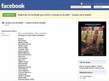 Grupo Facebook de Cenizas en el andén