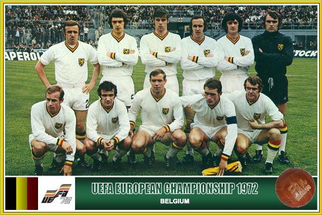 Resultado de imagem para Seleção da Belgica 1970