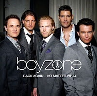 boyzone back again no matter what cover image