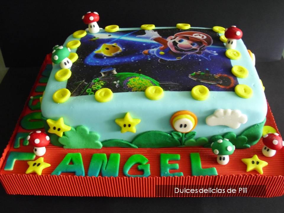 Super Mario Bros Cake [HD] - YouTube