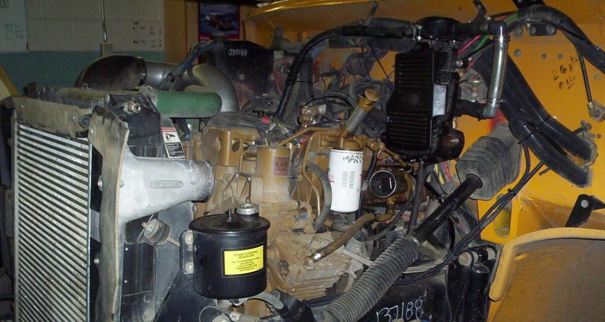 School Bus Mechanic Diesel Engine Repairing Troubleshooting – Diagram Of Rear Engine 3116