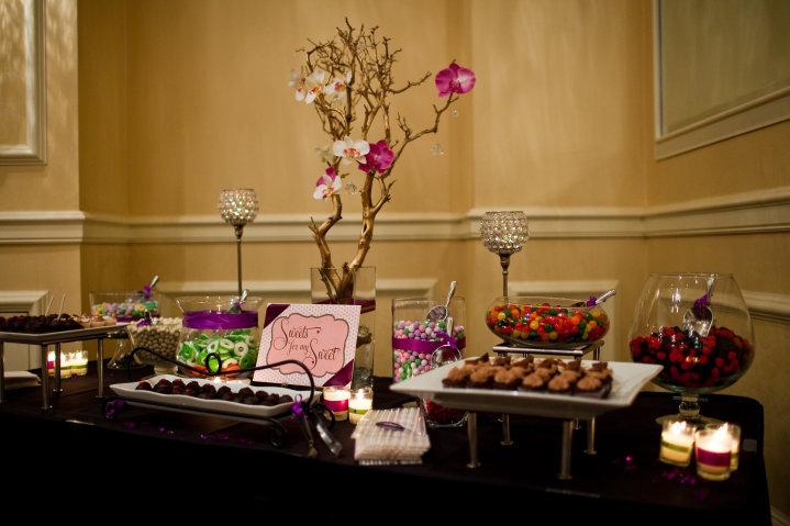 of creating mini desserts for Homaira Gafouri 39s wedding dessert bar