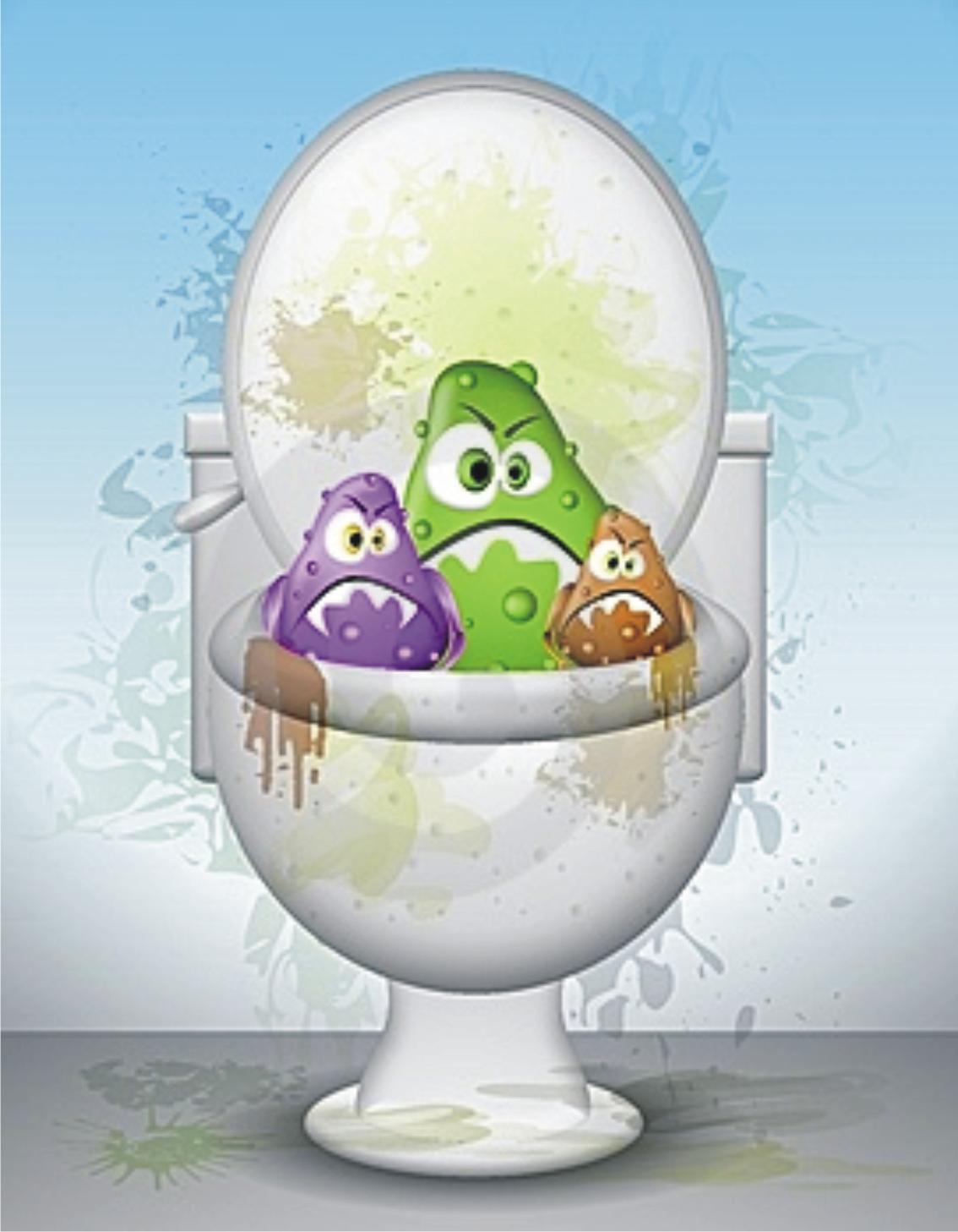 Imagenes De Un Baño Sucio:mucho tiempo de recalcó sobre la necesidad de desinfectar el baño