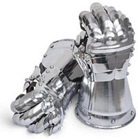 gauntlets from ThinkGeek