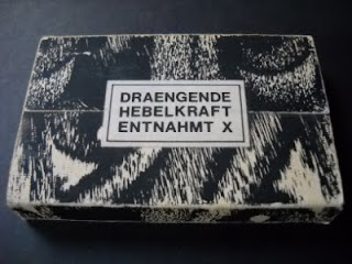 DRAENGENDE HEBELKRAFT-ENTNAHMT X, TAPE, 1989, SWITZERLAND