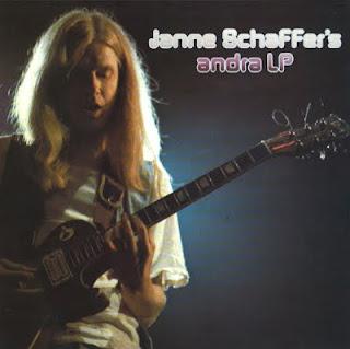 JANNE SCHAFFER-JANNE SCHAFFER'S ANDRA LP, LP, 1974, SWEDEN