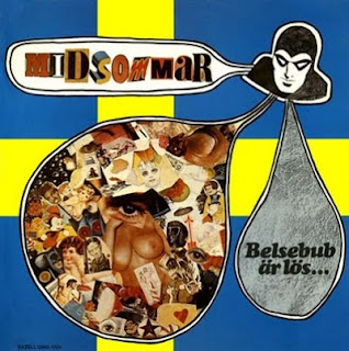 MIDSOMMAR-BELSEBUB AR LOS, LP, 1971, SWEDEN