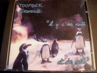 TOUPIDEK LIMONADE-IL Y A DES NUITS ET DES NUITS, CD, 2000 (RECORDED: 1985), FRANCE