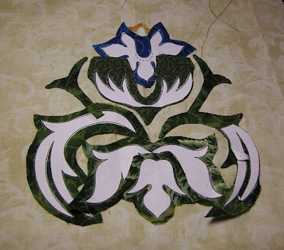 william morris work. William Morris in Applique
