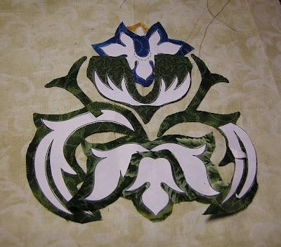 william morris work. William Morris in Applique