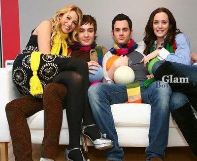 gossip girl cast photo shoot