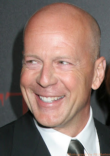 Hollywood suprstar male celebrity Bruce Willis