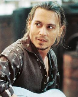 Hollywood male suprstar celebrity Johnny Depp