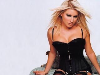 Hollywood female sexy celebrity Dani Behr