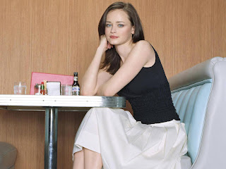 actress and former fashion model Alexis Bledel