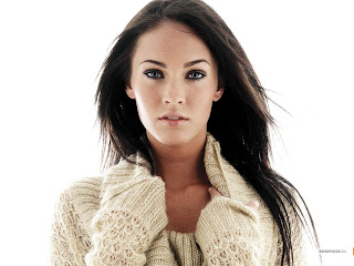 American actress and model Megan Fox