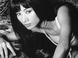 Chinese-born American actress Bai Ling