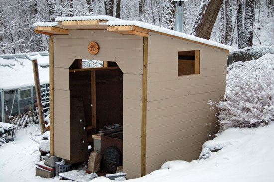 SUGAR SHACK front view