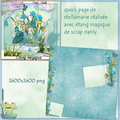 http://stellamariescrap.blogspot.com/2009/08/quick-page-avec-etang-magique-de-scrap.html