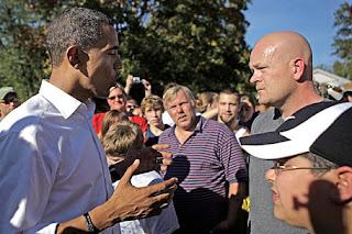 Joe the Plumber and Barack Obama