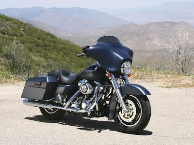 luxury Harley-Davidson FLHX classic