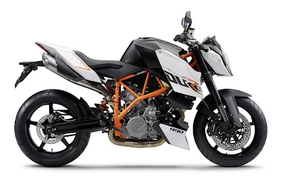 KTM type 990 Adventure R model streetfigter
