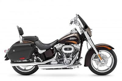 Harley-Davidson CVO Softail  motorcycle