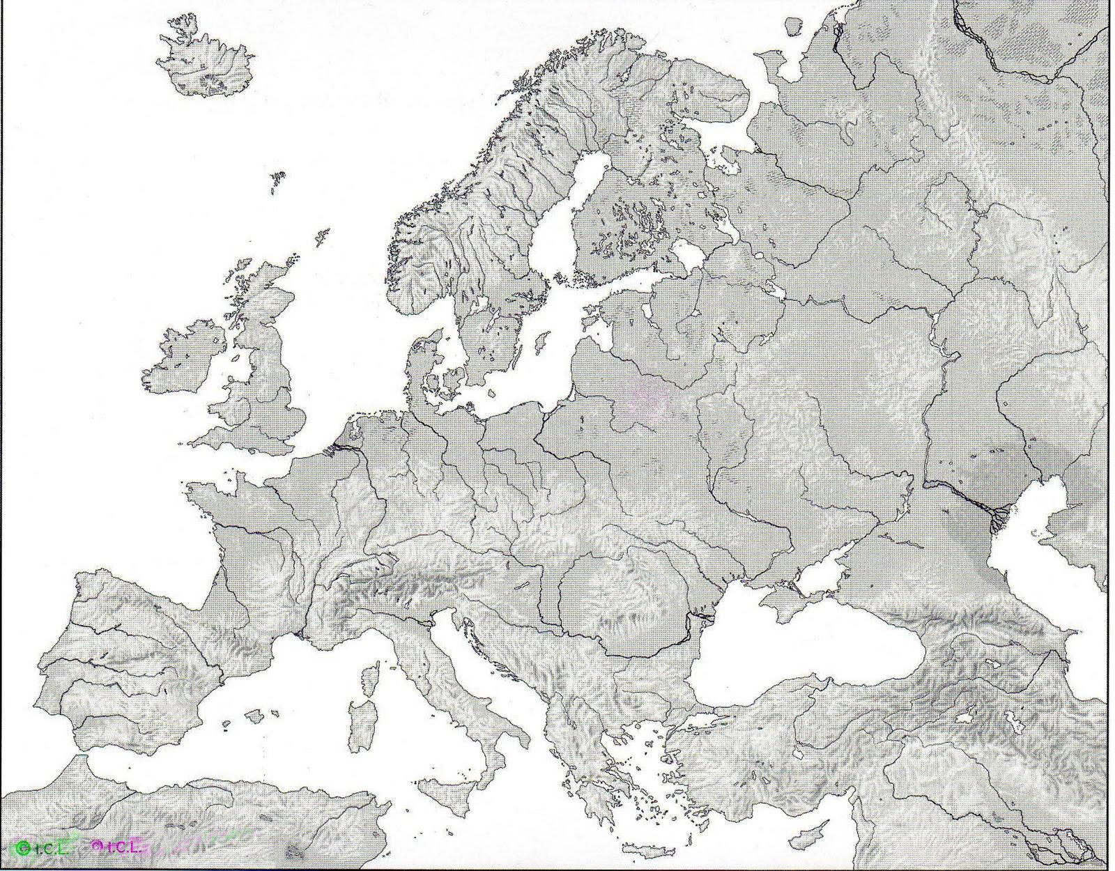 1 ESO Control de Geografa de Europa  Geografa e Historia