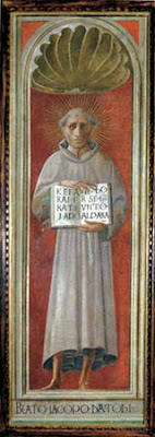 Jacopone da Todi, fresco by Paolo Uccello, Cathedral of Prato, now in Museo di Pittura Murale