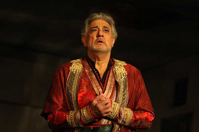 Plácido Domingo in Tamerlano, Washington National Opera, 2008, photo by Karin Cooper