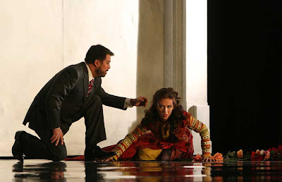David Daniels (Tamerlano) and Sarah Coburn (Asteria) in Tamerlano, Washington National Opera, 2008 (photo by Karin Cooper)