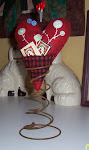 Queen of Hearts Pincushion by Glenna