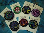 Wooly Geode Pins