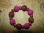 Wool Beads Bracelet