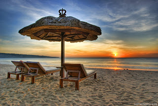 Puesta del sol en Bali