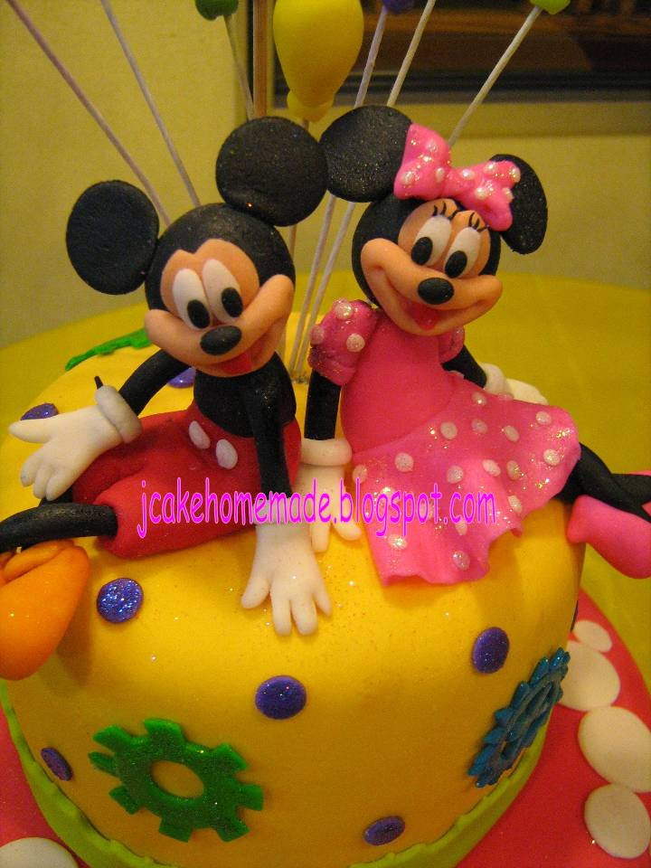 This is a photo of Tactueux Mickey Mouse 3rd Birthday