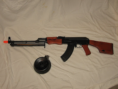 The SRC RPK comes with a 3000 round drum mag and with a 600 round hi ...