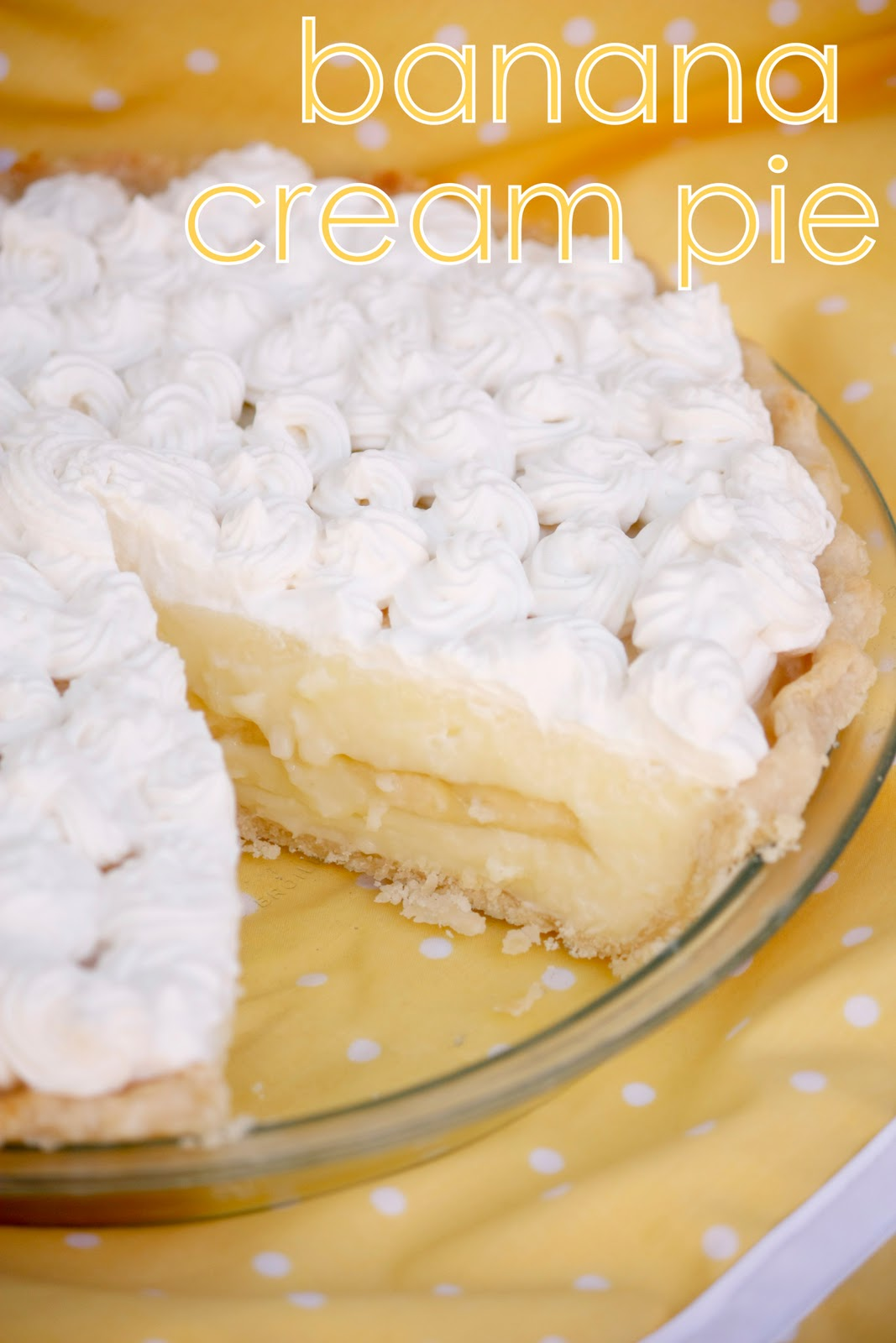 nana banana cream pie - delia creates