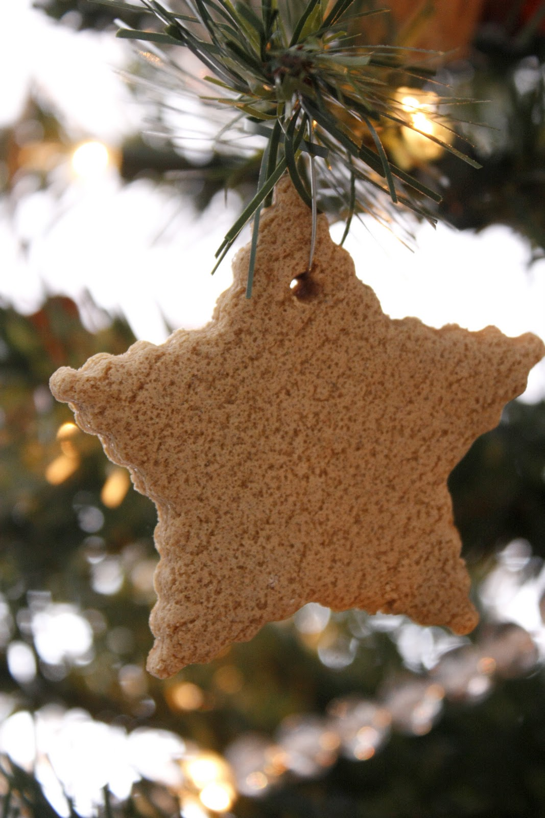 Gingerbread man ornaments - Not Having Any Glitter Or A Snowflake Cookie Cutter And Not Wanting To Purchase Anything For This Project I Decided To Make Stars And Gingerbread Men