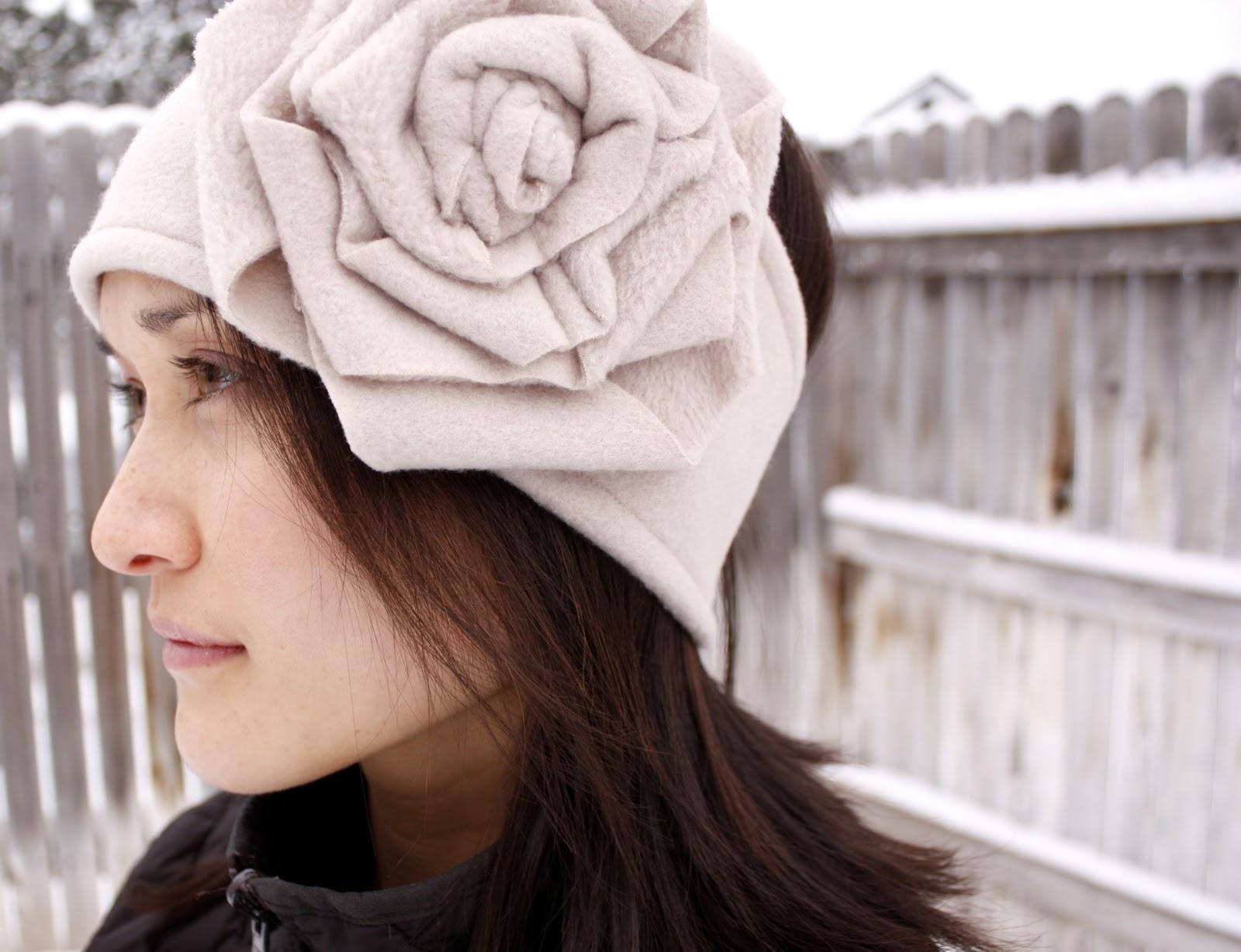 lucy flower ear warmer