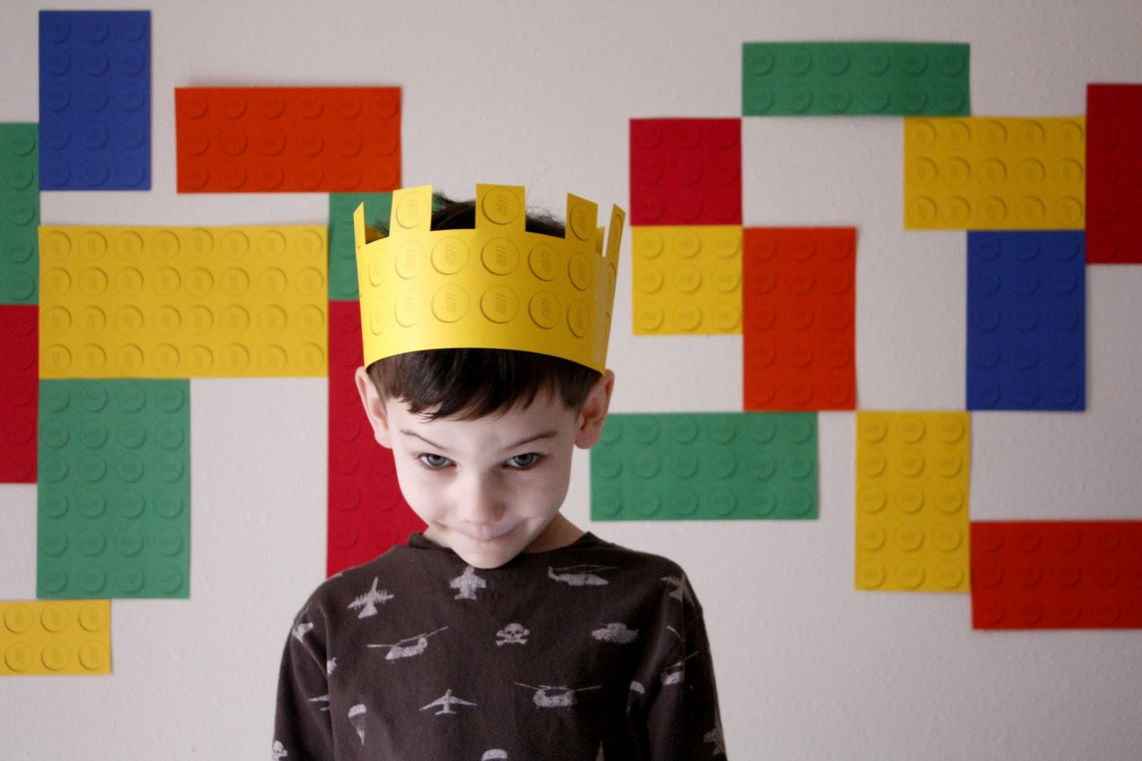 Free Birthday Printables Boy ~ Lego birthday party