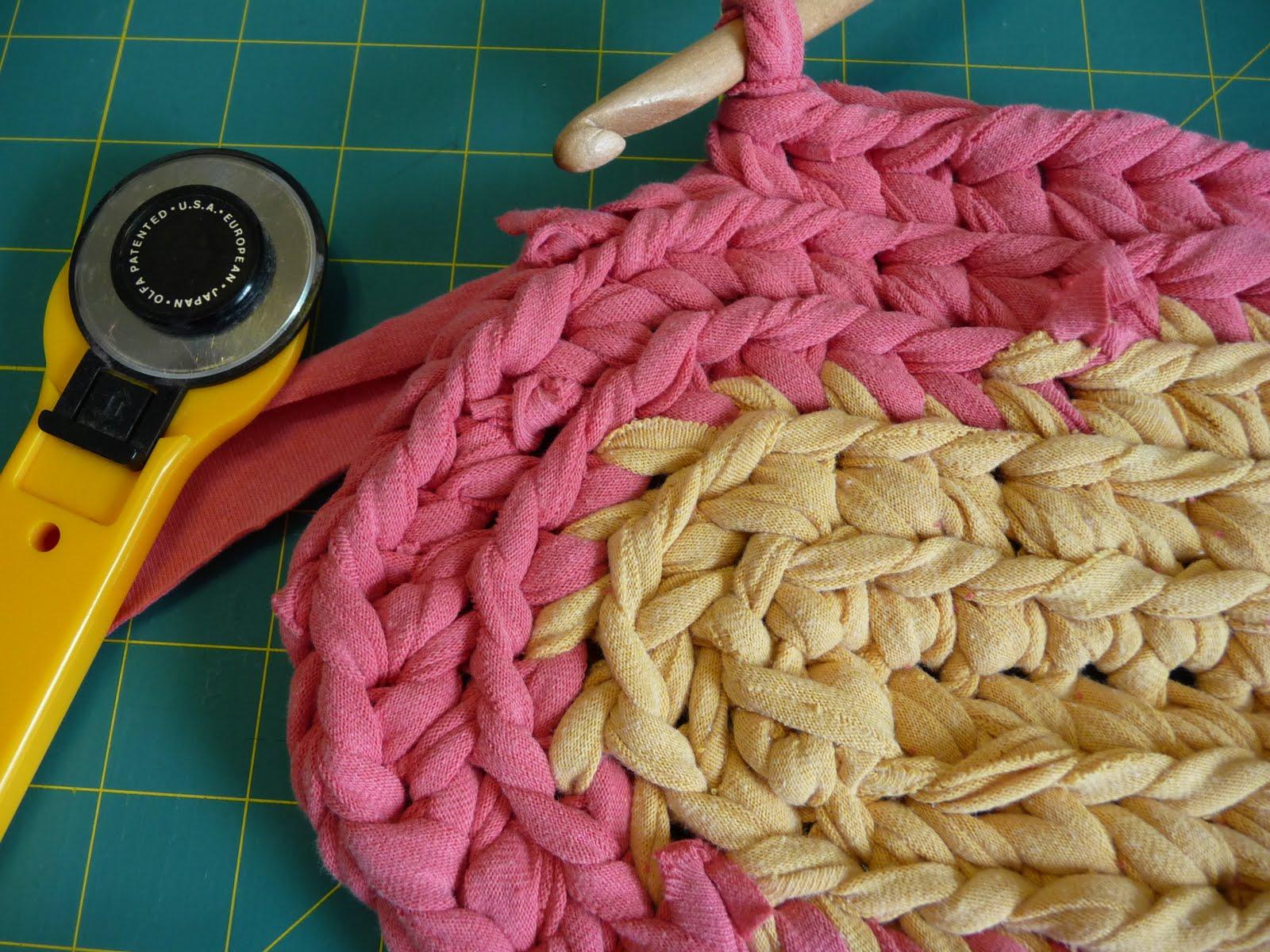 Luxury Crochet T Shirt Rug Pattern Composition - Blanket Knitting ...
