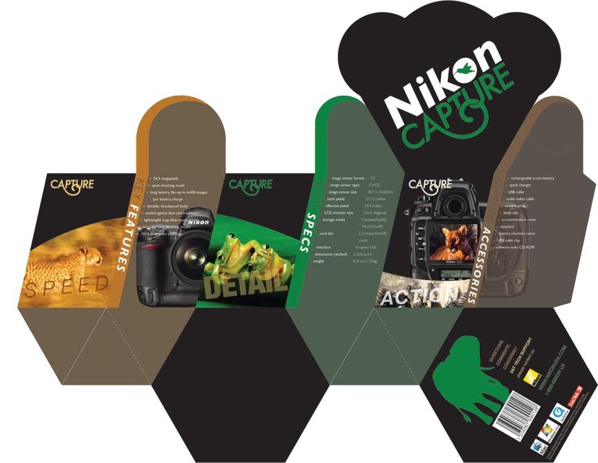 Big D Sam Camera Packaging Layout