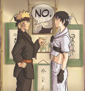Sai Vs Naruto Anime