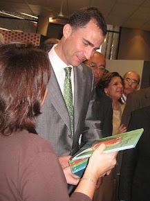 en manos del Príncipe de Asturias, hoy rey de España.