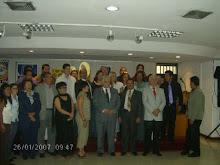 Con  el Dr. Aristides Medina  Rubio